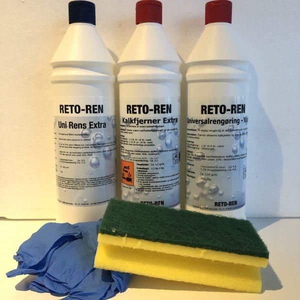 Rengøringsmidler til kalk