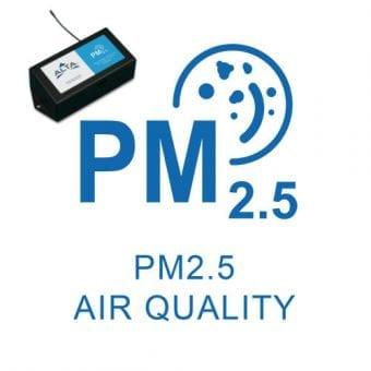 Luftkvalitet, sensor til måling af partikler PM 2.5 i indeklimaet