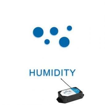 Luftfugtighed, sensor til måling af temperatur og luftfugtighed